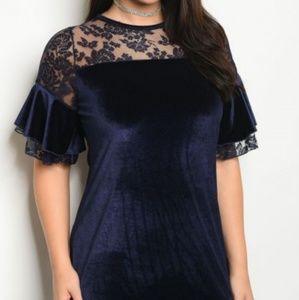 Dresses & Skirts - Blue Velvet
